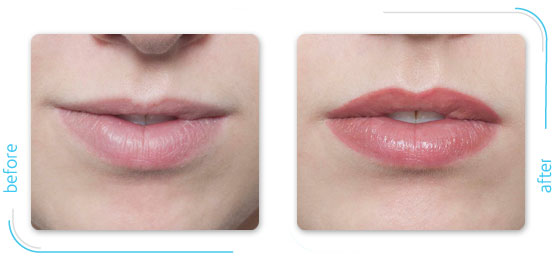 Microbladed Lips