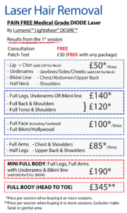 Laser Hair Removal in Leeds Prices May offers.png