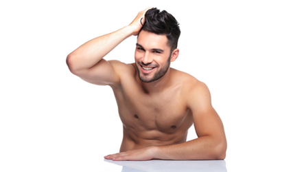 Laser hair removal for men in Leeds & Bradford